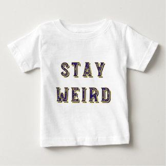 Camiseta De Bebé Estancia extraña