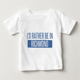Camiseta De Bebé Estaría bastante en Richmond ADENTRO