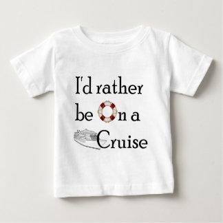 Camiseta De Bebé Estaría bastante en una travesía