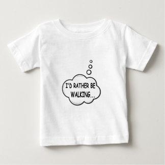 Camiseta De Bebé Estaría caminando bastante
