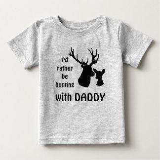 Camiseta De Bebé Estaría cazando bastante con el tío del abuelo del