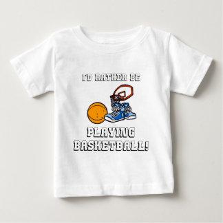 Camiseta De Bebé ¡Estaría jugando bastante a baloncesto!