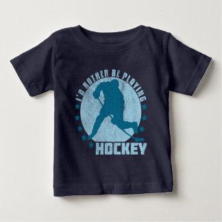 Camiseta De Bebé Estaría jugando bastante a hockey