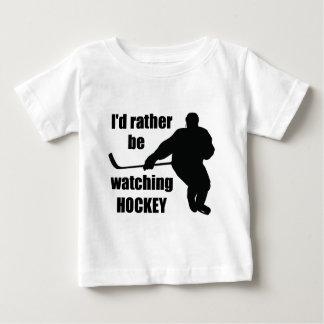Camiseta De Bebé Estaría mirando bastante hockey