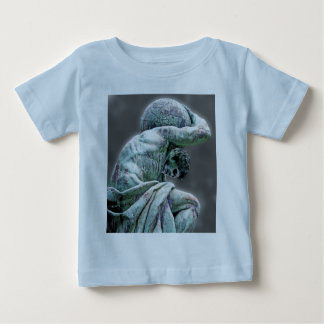 Camiseta De Bebé Estatua de Bismarck, Berlín, atlas griego de dios,
