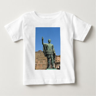 Camiseta De Bebé Estatua de Trajan en Roma, Italia