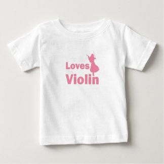 Camiseta De Bebé Este chica ama el regalo del violín