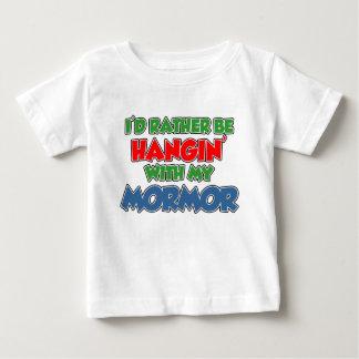 Camiseta De Bebé Esté colgando bastante con Mormor
