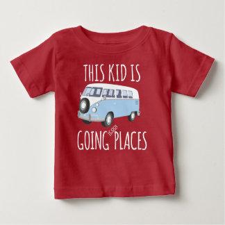 Camiseta De Bebé Este niño es lugares frescos que van
