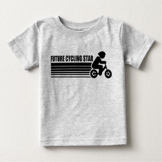 Camiseta De Bebé Estrella de ciclo futura