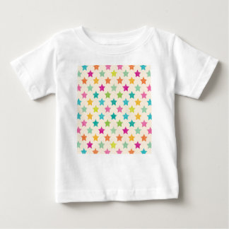 Camiseta De Bebé Estrellas coloridas IV