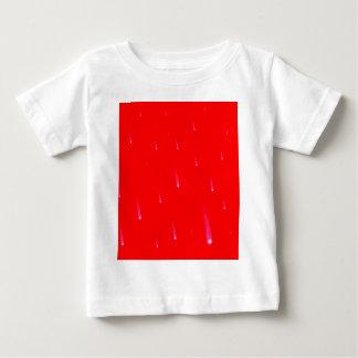 Camiseta De Bebé Estrellas el caer rojas del navidad que caen