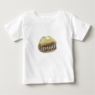Camiseta De Bebé Etiqueta de la patata de Idaho