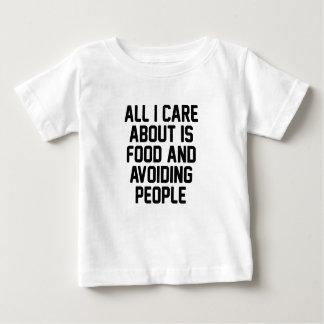 Camiseta De Bebé Evitar a gente