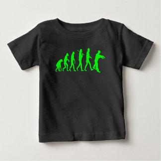 Camiseta De Bebé Evolución del zombi