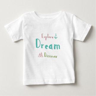 Camiseta De Bebé Explore el sueño descubren