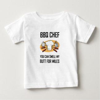 Camiseta De Bebé Extremos del olor del cocinero del Bbq