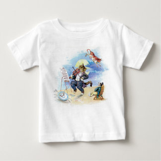 Camiseta De Bebé Ey, Diddle Diddle la poesía infantil