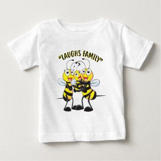 Camiseta De Bebé Familia de las risas