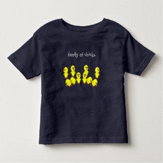 Camiseta De Bebé familia de polluelos