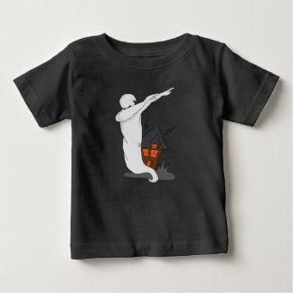 Camiseta De Bebé fantasma que frota danza divertida del lenguado de