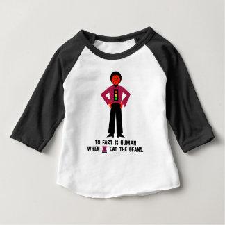 Camiseta De Bebé Fart es humano