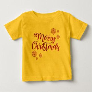 Camiseta De Bebé Felices Navidad