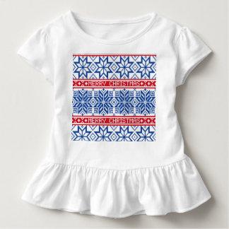 Camiseta De Bebé Felices Navidad escandinavas