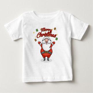 Camiseta De Bebé Felices Navidad Santa