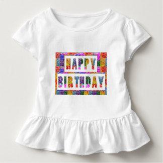 Camiseta De Bebé FELIZ CUMPLEAÑOS: El artista creó color de la