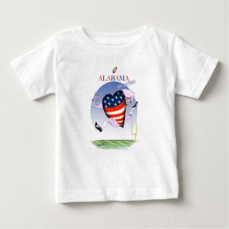 Camiseta De Bebé fernandes tony ruidosos y orgullosos de Alabama,