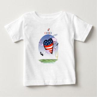 Camiseta De Bebé fernandes tony ruidosos y orgullosos de Ohio,