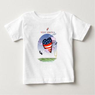 Camiseta De Bebé fernandes tony ruidosos y orgullosos de Virginia