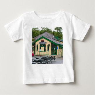 Camiseta De Bebé Ferrocarril de la montaña de Snowdon, Llanberis,