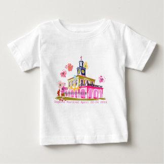 Camiseta De Bebé Festival 2016 Fayetteville céntrico NC del Dogwood