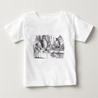 Camiseta De Bebé Fiesta del té enojada del sombrerero