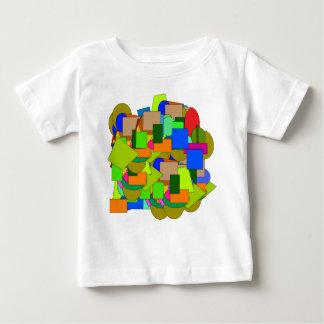 Camiseta De Bebé figuras geométricas