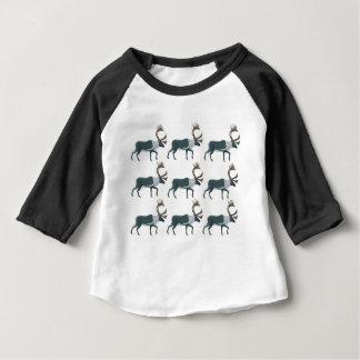 Camiseta De Bebé Filas del caribú