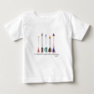 Camiseta De Bebé Flecha del salmo 91