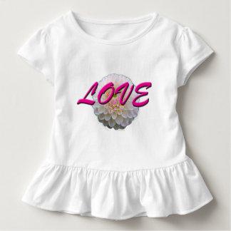 Camiseta De Bebé Flor del amor