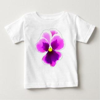 Camiseta De Bebé Flor púrpura 201711 del pensamiento