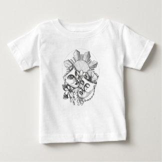 Camiseta De Bebé Flor S filipino de Sampaguita del hibisco de la