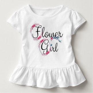 Camiseta De Bebé Floral lindo del florista