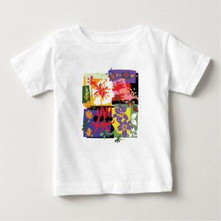 Camiseta De Bebé Floral - t'shirts del bebé