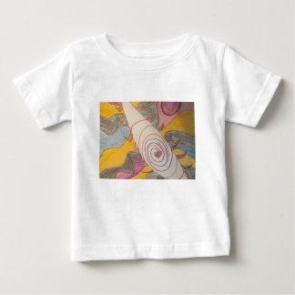 Camiseta De Bebé Flotación en el vacío del arco iris