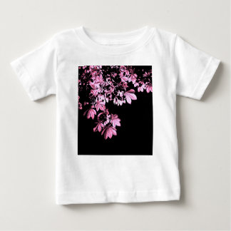 Camiseta De Bebé Follaje de la púrpura del arte
