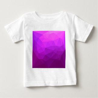 Camiseta De Bebé Fondo bajo abstracto púrpura bizantino del