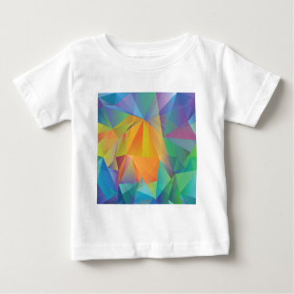 Camiseta De Bebé fondo coloreado