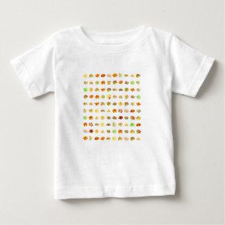 Camiseta De Bebé Fondo del caramelo