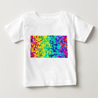 Camiseta De Bebé Fondo inconsútil del modelo del pixel como